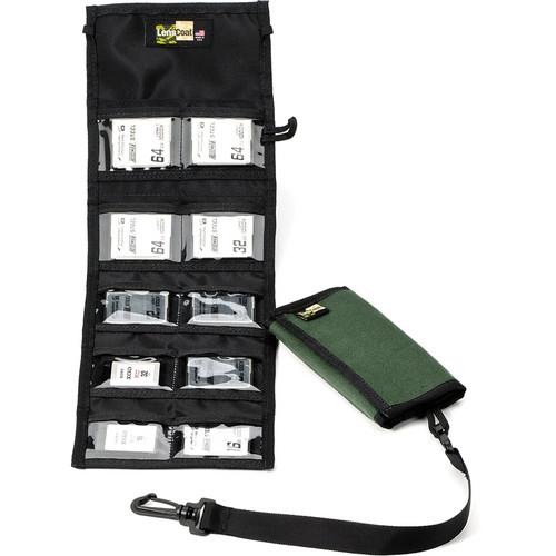 LensCoat Memory Card Wallet CF10 (Green)