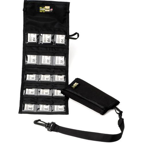 LensCoat Memory Card Wallet SD15 (Black)