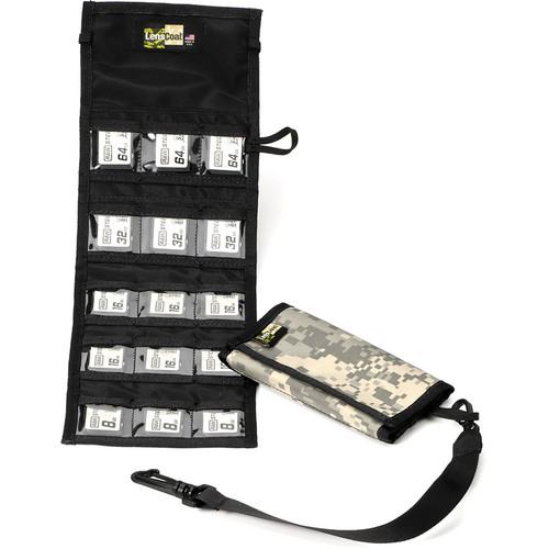 LensCoat Memory Card Wallet SD15 (Digital Camo)