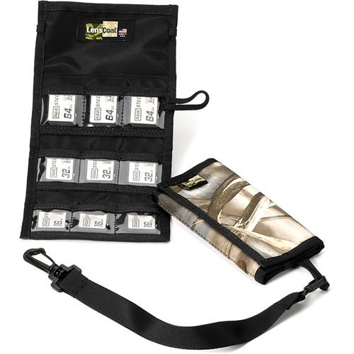 LensCoat Memory Card Wallet SD9 (Realtree MAX-4)