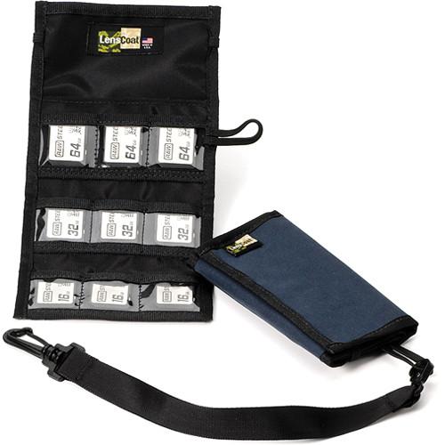 LensCoat Memory Card Wallet SD9 (Navy)