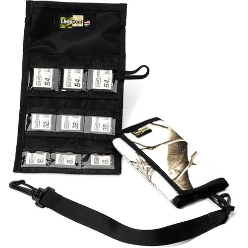 LensCoat Memory Card Wallet SD9 (Realtree AP Snow)