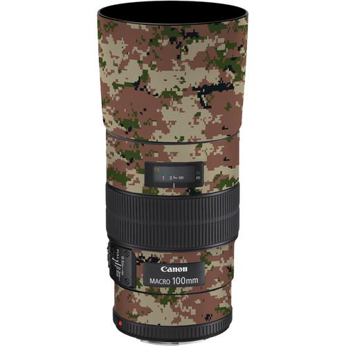 LensSkins Lens Skin for the Canon 100mm f/2.8 Macro IS Lens (Camo)