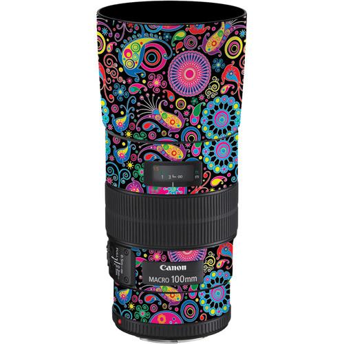 LensSkins Lens Skin for the Canon 100mm f/2.8 Macro IS Lens (Carnival Flair)