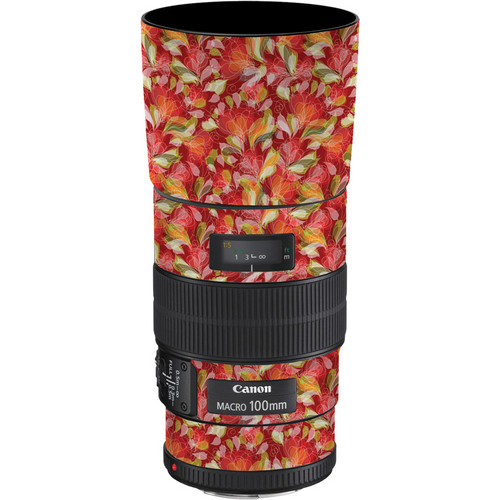 LensSkins Lens Skin for the Canon 100mm f/2.8 Macro IS Lens (French Feather)