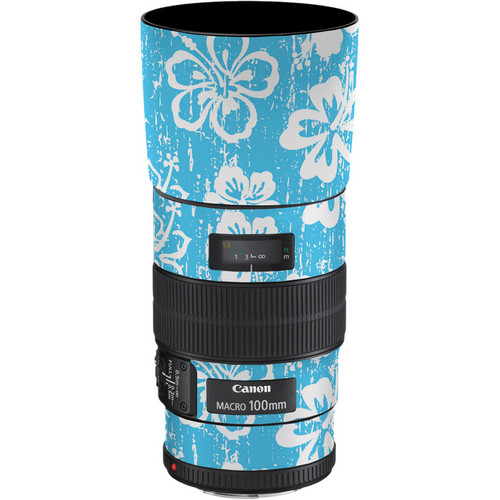 LensSkins Lens Skin for the Canon 100mm f/2.8 Macro IS Lens (Island Photographer)