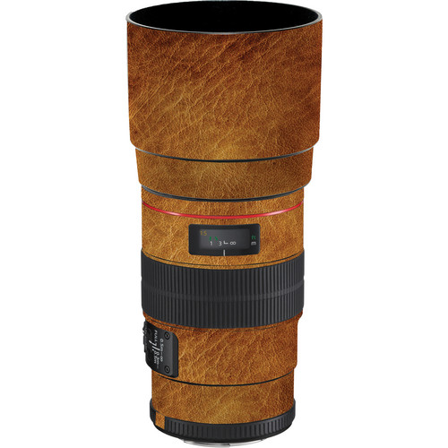 LensSkins Lens Wrap for Canon 100mm f/2.8L IS (Leathered)