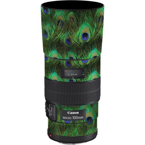 LensSkins Lens Skin for the Canon 100mm f/2.8 Macro IS Lens (Peacock Bliss)