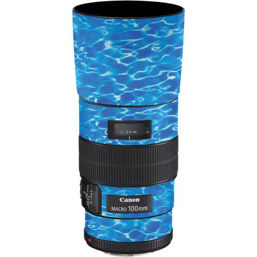 LensSkins Lens Skin for the Canon 100mm f/2.8 Macro IS Lens (Underwater)