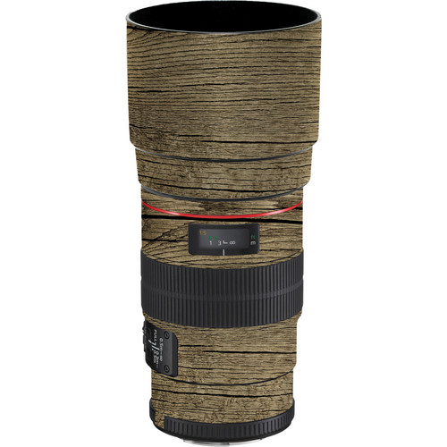 LensSkins Lens Wrap for Canon 100mm f/2.8L IS (Woodie)