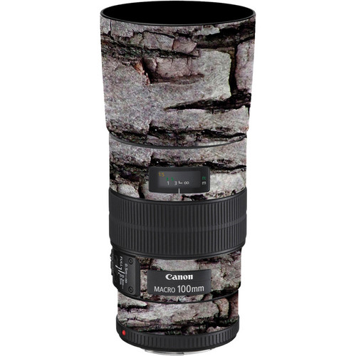 LensSkins Lens Skin for the Canon 100mm f/2.8 Macro IS Lens (Winter Woodland)