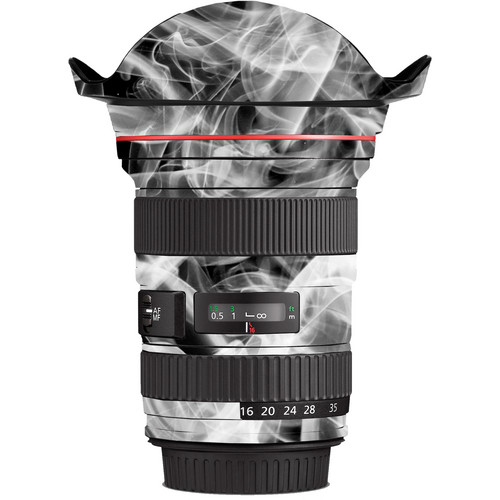 LensSkins Lens Wrap for Canon 16-35mm f/2.8L (Black and White Smoke)