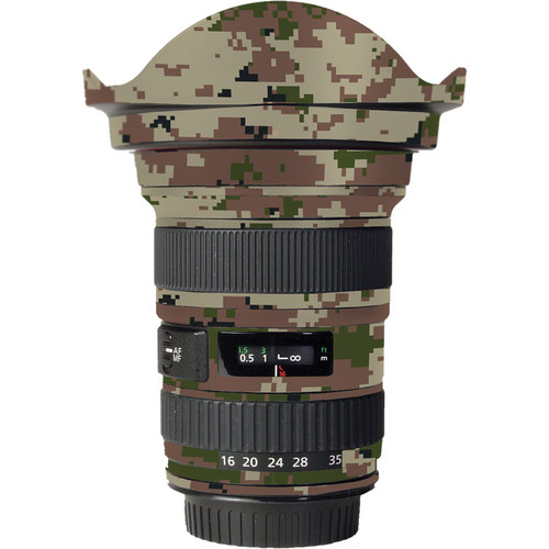 LensSkins Lens Skin for the Canon 16-35mm f/2.8L (Mark 1) Lens (Camo)