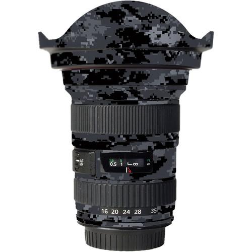 LensSkins Lens Skin for the Canon 16-35mm f/2.8L (Mark 1) Lens (Dark Camo)