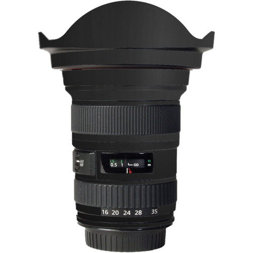 LensSkins Lens Skin for the Canon 16-35mm f/2.8L (Mark 1) Lens (Flat Black)