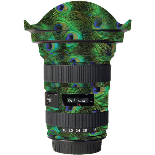 LensSkins Lens Skin for the Canon 16-35mm f/2.8L (Mark 1) Lens (Peacock Bliss)