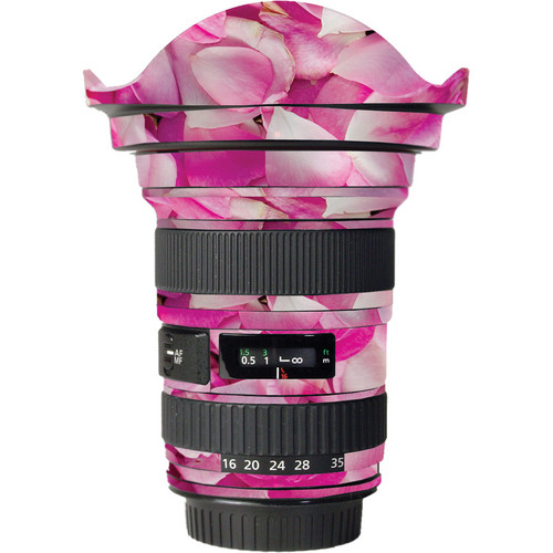 LensSkins Lens Skin for the Canon 16-35mm f/2.8L (Mark 1) Lens (Pink Petals)