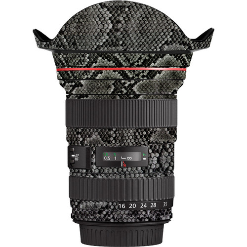 LensSkins Lens Wrap for Canon 16-35mm f/2.8L (Snake Skin)