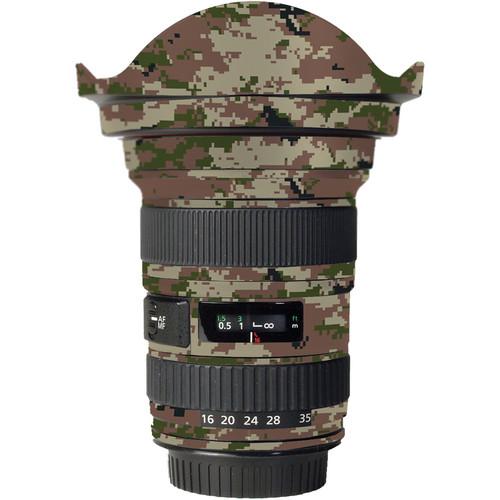 LensSkins Lens Skin for the Canon 16-35mm f/2.8L (Mark 11) Lens (Camo)