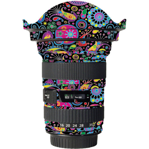 LensSkins Lens Skin for the Canon 16-35mm f/2.8L (Mark 11) Lens (Carnival Flair)
