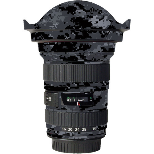 LensSkins Lens Skin for the Canon 16-35mm f/2.8L (Mark 11) Lens (Dark Camo)