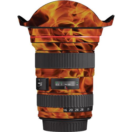 LensSkins Lens Wrap for Canon 16-35mm f/2.8L II (Fire)