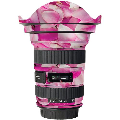 LensSkins Lens Skin for the Canon 16-35mm f/2.8L (Mark 11) Lens (Pink Petals)