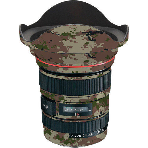 LensSkins Lens Skin for the Canon 17-40 f/4 EF USM Lens (Camo)