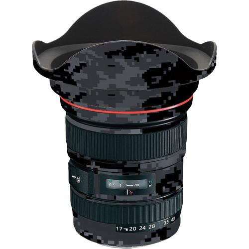 LensSkins Lens Skin for the Canon 17-40 f/4 EF USM Lens (Dark Camo)
