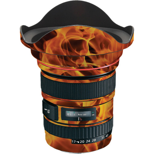 LensSkins Lens Wrap for Canon 17-40mm f/4L (Fire)