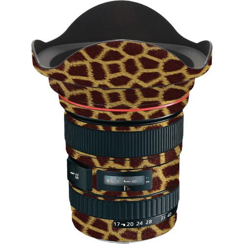 LensSkins Lens Skin for the Canon 17-40 f/4 EF USM Lens (Giraffe)