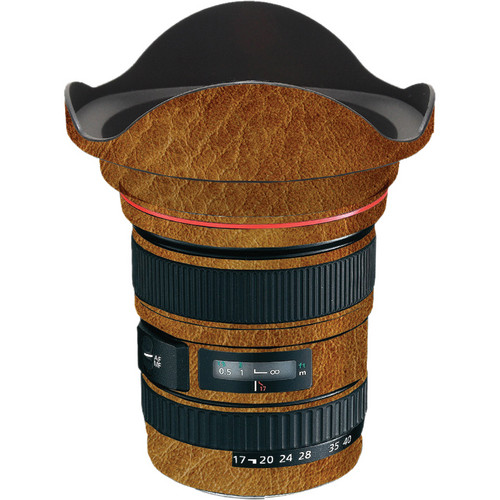 LensSkins Lens Wrap for Canon 17-40mm f/4L (Leathered)