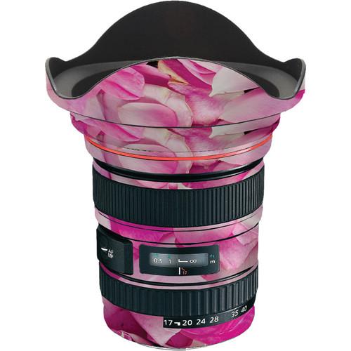 LensSkins Lens Skin for the Canon 17-40 f/4 EF USM Lens (Pink Petals)