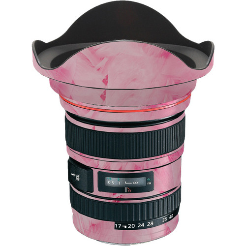 LensSkins Lens Skin for the Canon 17-40 f/4 EF USM Lens (Tickled Pink)