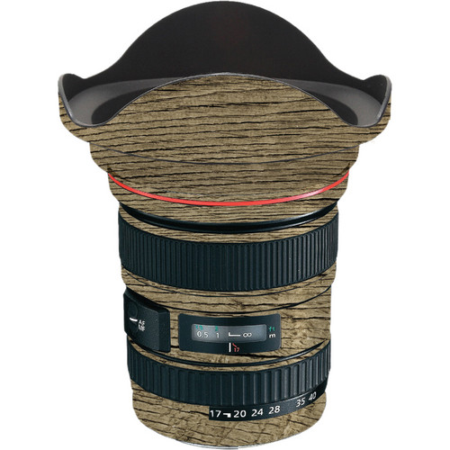 LensSkins Lens Wrap for Canon 17-40mm f/4L (Woodie)