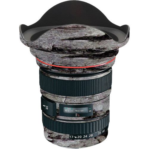 LensSkins Lens Skin for the Canon 17-40 f/4 EF USM Lens (Winter Woodland)