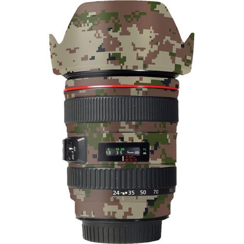 LensSkins Lens Skin for the Canon 24-105 f/4L IS EF USM Lens (Camo)