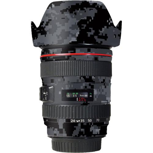 LensSkins Lens Skin for the Canon 24-105 f/4L IS EF USM Lens (Dark Camo)