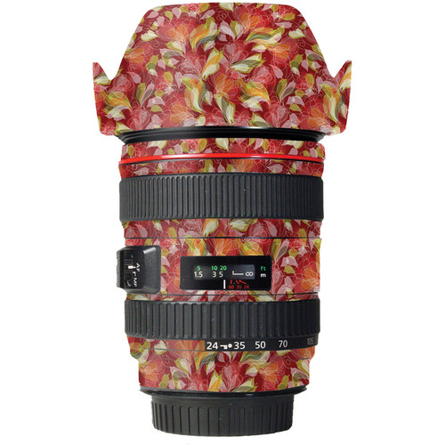 LensSkins Lens Skin for the Canon 24-105 f/4L IS EF USM Lens (French Feather)