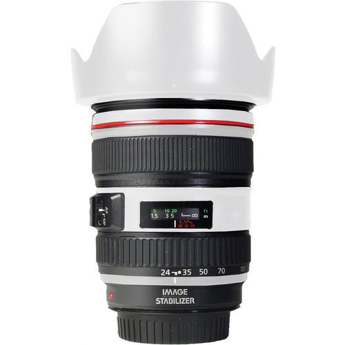 LensSkins Lens Skin for the Canon 24-105mm f/4L IS EF USM Lens (Flat White)