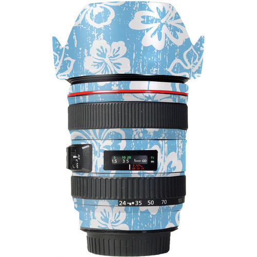 LensSkins Lens Skin for the Canon 24-105mm f/4L IS EF USM Lens (Island Photographer)