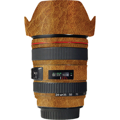 LensSkins Lens Wrap for Canon 24-105mm f/4L IS (Leathered)