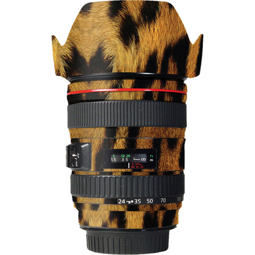 LensSkins Lens Wrap for Canon 24-105mm f/4L IS (Leopard)