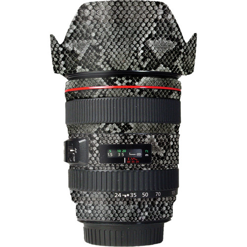 LensSkins Lens Wrap for Canon 24-105mm f/4L IS (Snake Skin)