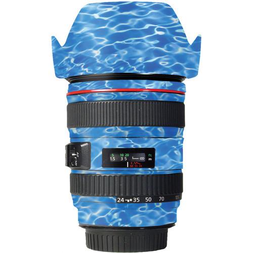 LensSkins Lens Skin for the Canon 24-105mm f/4L IS EF USM Lens (Underwater)