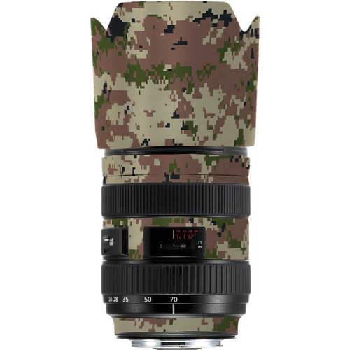 LensSkins Lens Skin for the Series 1 Canon 24-70mm f/2.8L Lens (Camo)