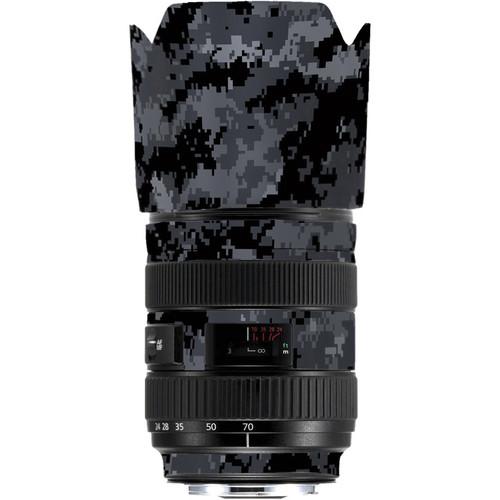 LensSkins Lens Skin for the Series 1 Canon 24-70mm f/2.8L Lens (Dark Camo)