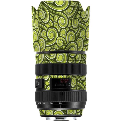 LensSkins Lens Skin for the Series 1 Canon 24-70mm f/2.8L Lens (Green Swirl)