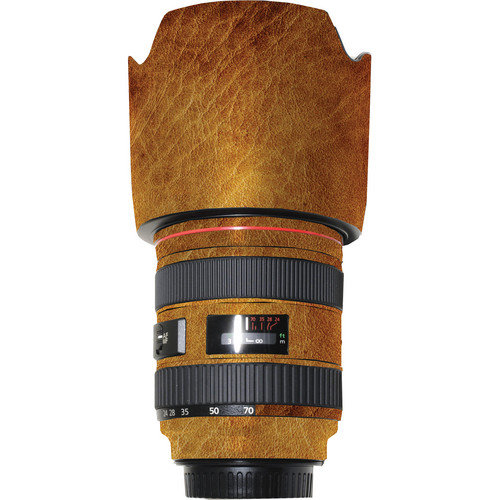 LensSkins Lens Wrap for Canon 24-70mm f/2.8L (Leathered)