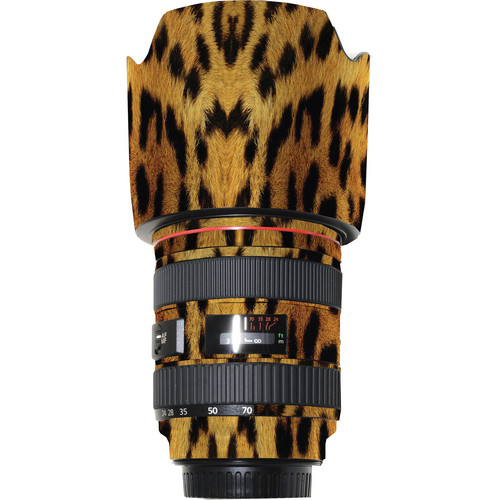 LensSkins Lens Wrap for Canon 24-70mm f/2.8L (Leopard)